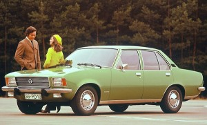 Opel Rekord Germany 1975