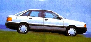 Audi 80 Germany 1988