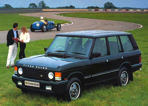 Range Rover UK 1989