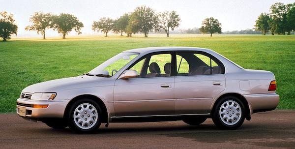 deli oluyorum 95 model toyota corolla -2000 model corolladan
