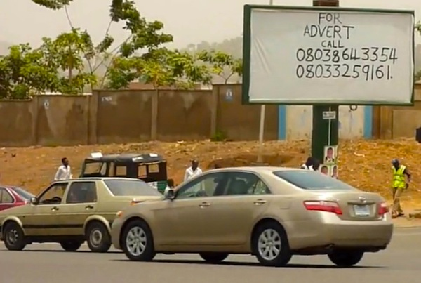 Toyota Camry Nigeria. Picture courtesy of You Tube