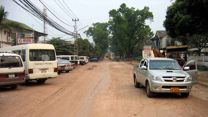 Toyota Hilux in Laos, Picture: www.flickr.com