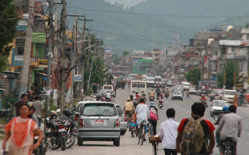 nepálské město