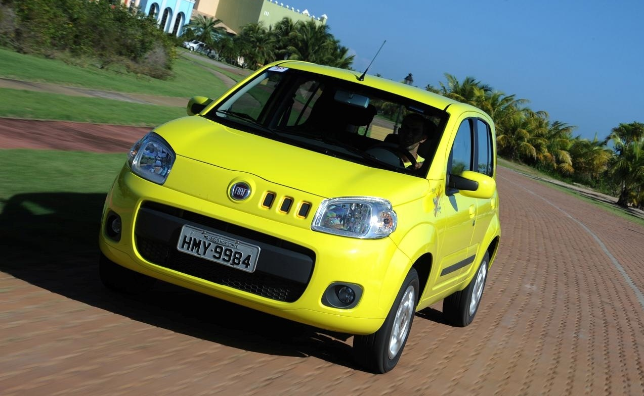 the new Fiat Uno over the