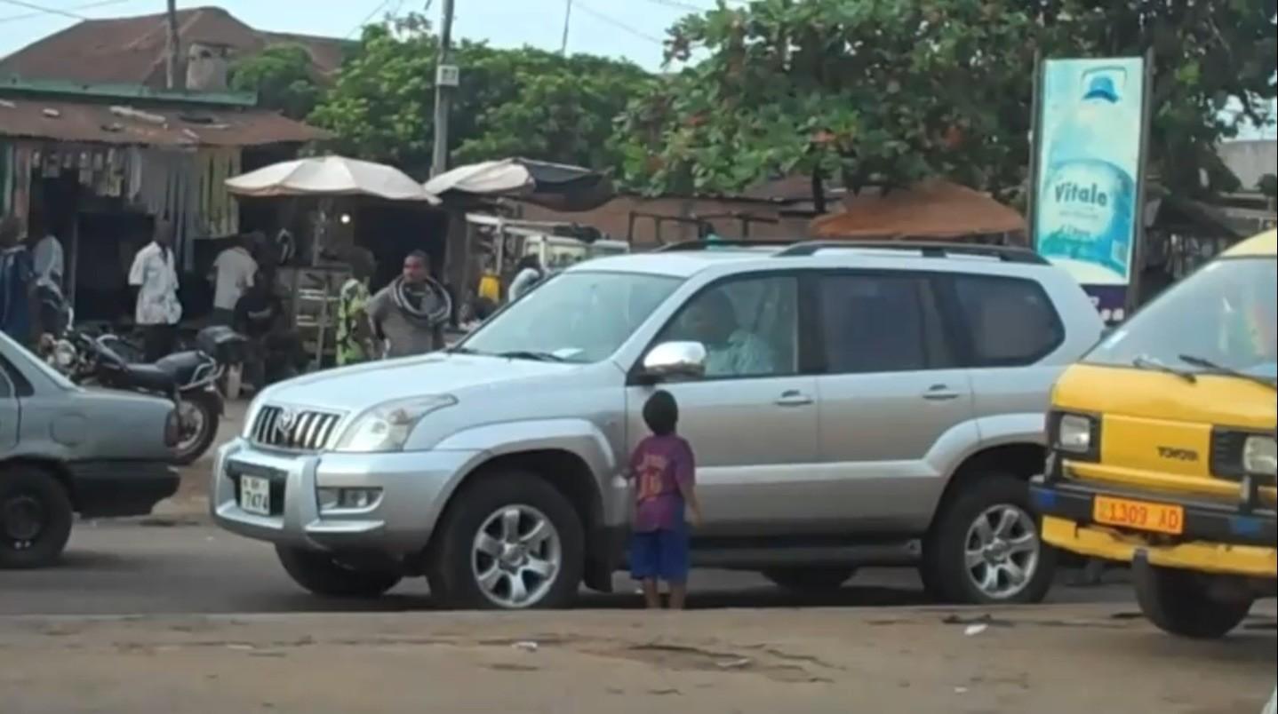 Toyota Prado in Lome, Togo
