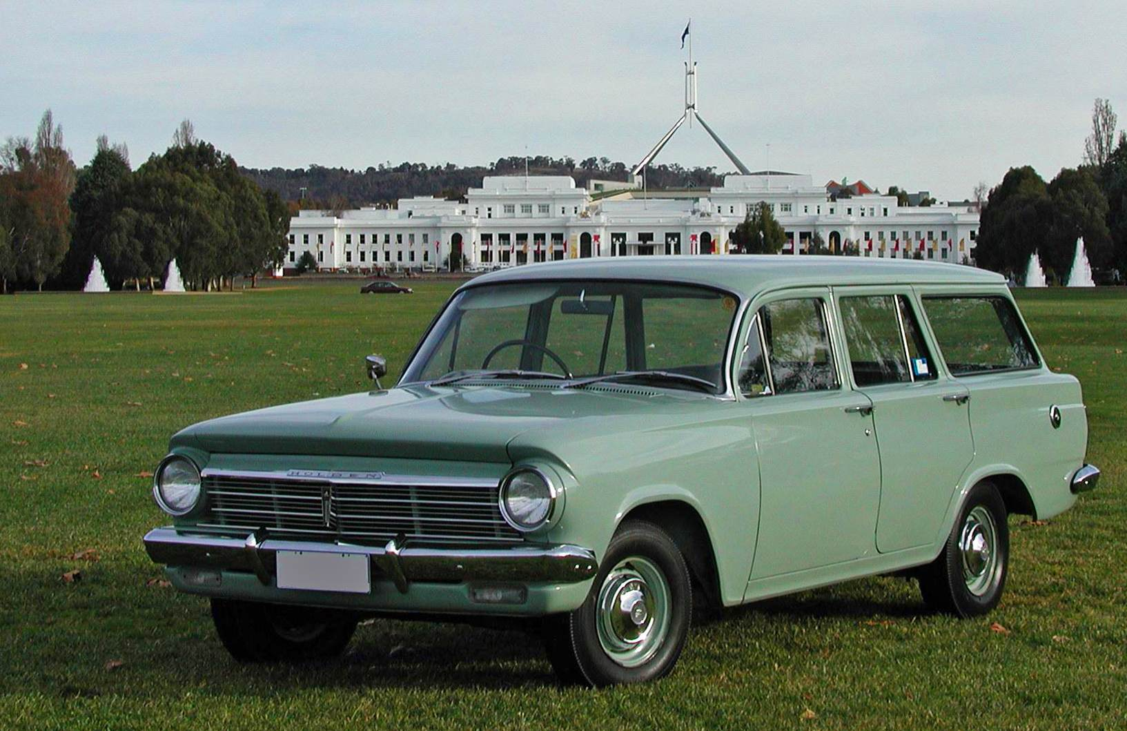 1963 Holden EH achieved the