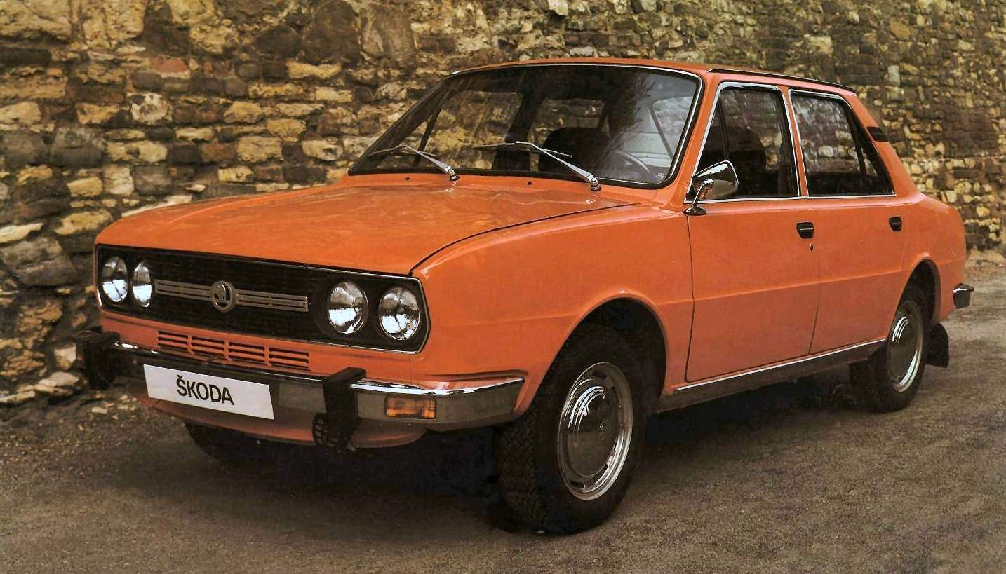 Czechoslovakia 1977 1987 Skoda 105 120 130 Dominates Sales Best Selling Cars Blog