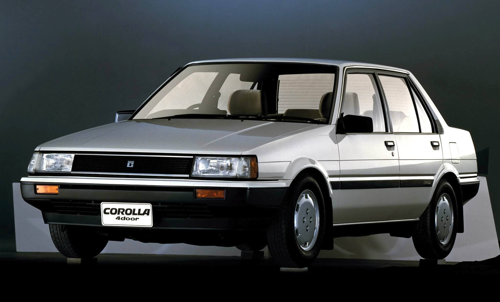 world 1981 1989 toyota corolla from strength to strength best selling cars blog. Black Bedroom Furniture Sets. Home Design Ideas