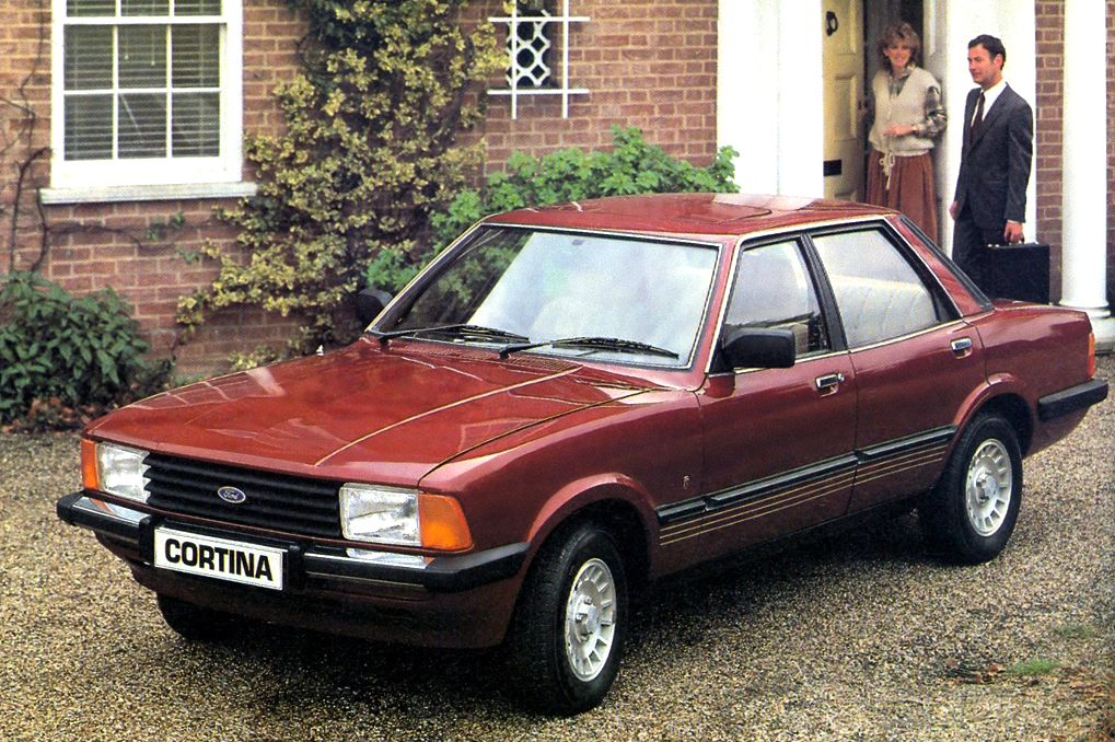 Uk 1980 1981 Ford Cortina Escort And Fiesta On Top Best Selling