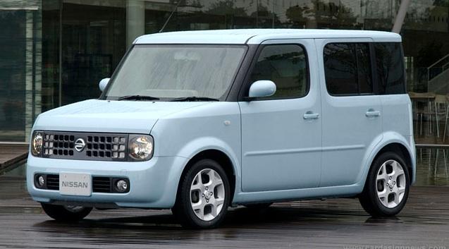 Nissan cube japan 2003
