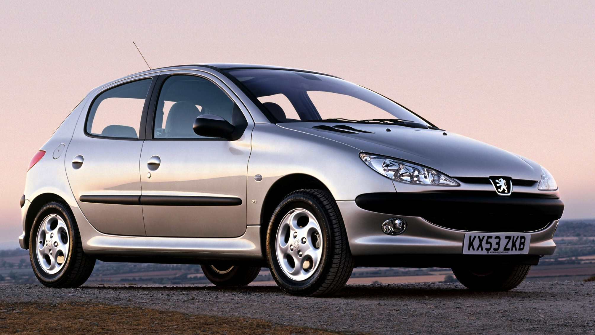 The Peugeot 206 was #1 in