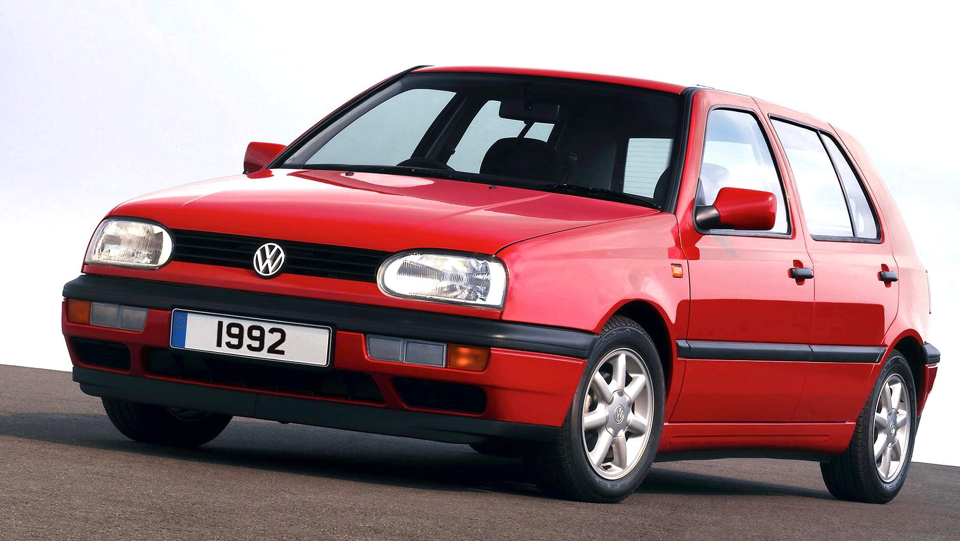 europe 1992 new gen vw golf and opel astra on top best