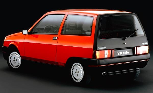 Lancia Y10 Italy 1989