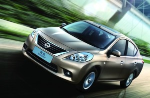 Nissan Sunny China June 2011