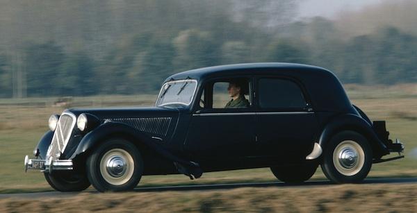 best selling cars blog france 1950 renault 4cv and citroen traction avant shine. Black Bedroom Furniture Sets. Home Design Ideas