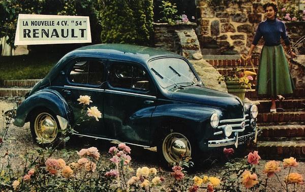 Renault 4CV France 1949
