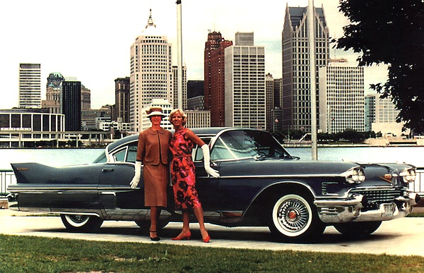 Cadillac Fleetwood USA 1958