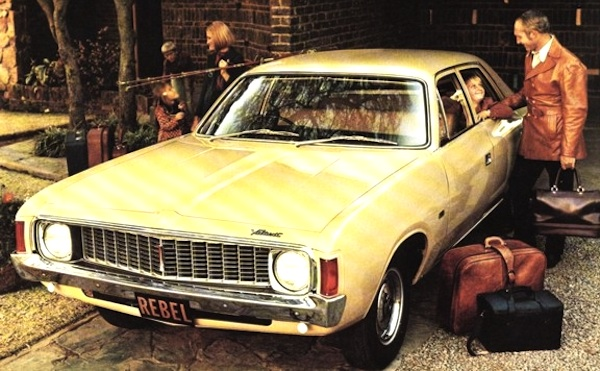 South Africa 1973 Chrysler Valiant And Ford Cortina On