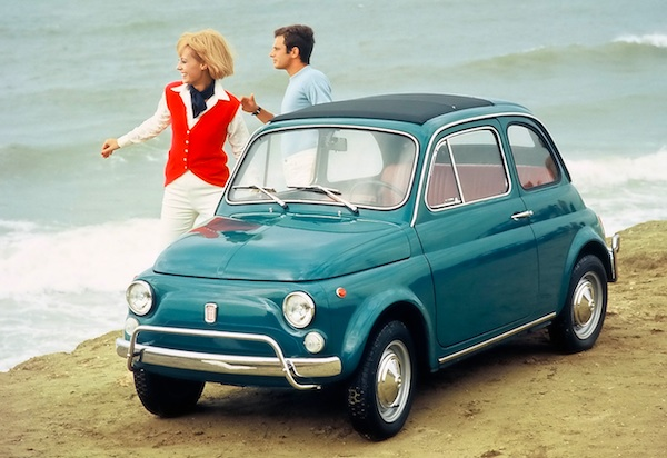 italy 1964 1968 fiat 500 takes the relay best selling cars blog. Black Bedroom Furniture Sets. Home Design Ideas