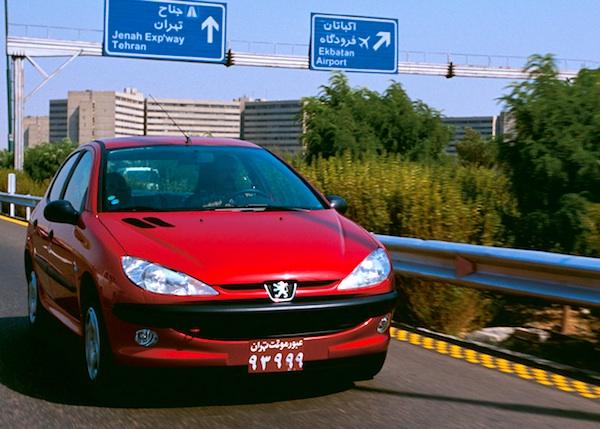 Peugeot 206 Iran July 2014