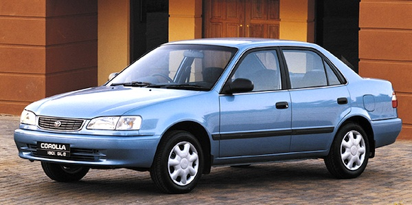 South Africa 1997 2000 Toyota Corolla And Conquest Lead The Way Best Ing Cars Blog