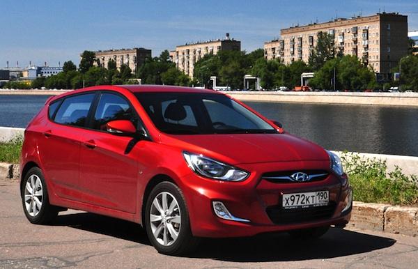 Hyundai Solaris Price in Russia Hyundai Solaris Russia
