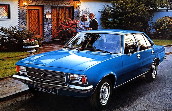 Opel Rekord Germany 1972