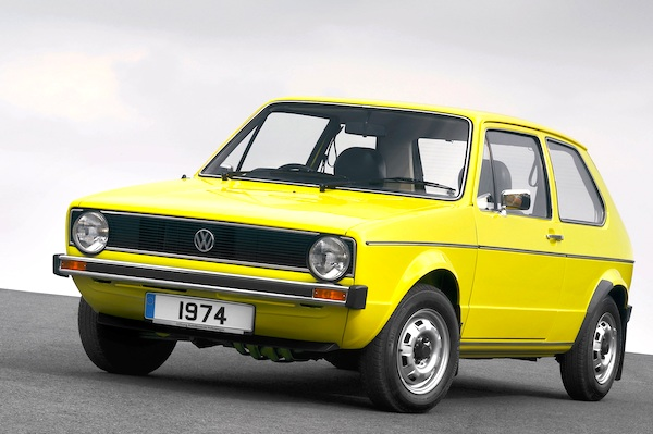 VW Golf Germany 1975