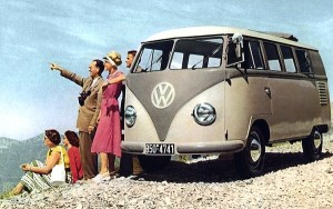VW Kombi Germany 1950