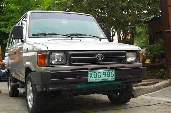 Toyota Tamaraw FX Philippines 1995c