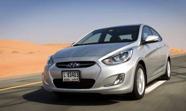 Hyundai Accent Algeria March 2014