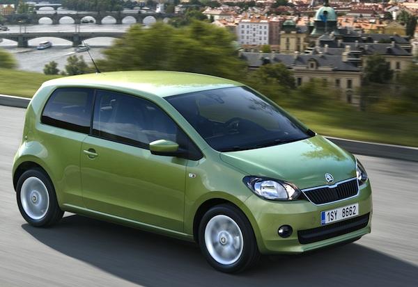 Auto Sale Czech Republic: Czech Republic November 2011: Skoda Citigo In Top 30