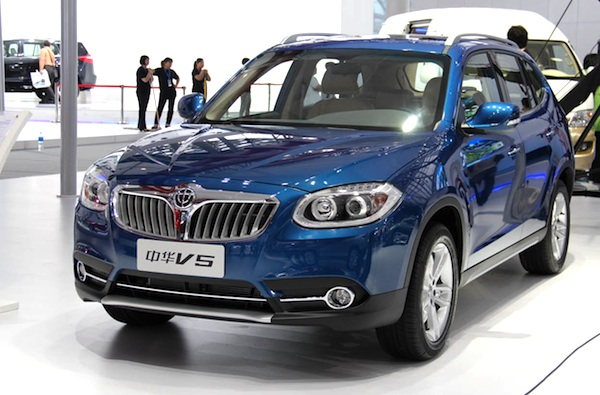 Brilliance V5 China December 2011Brilliance V5 Vs Bmw X1