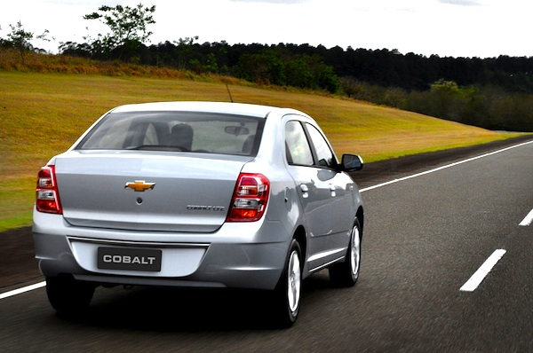 Chevrolet Cobalt Brazil January 2012
