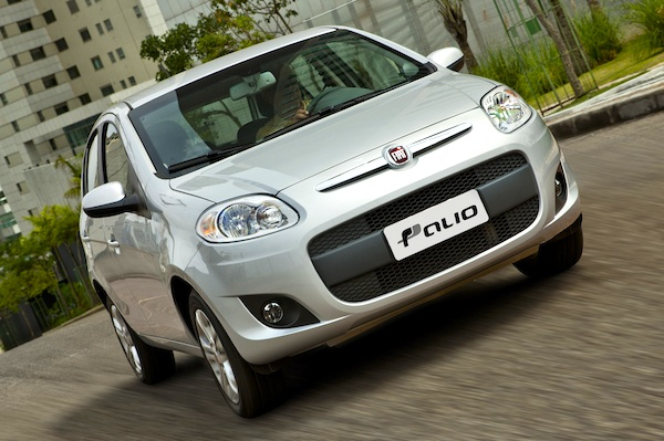 Fiat Palio Brazil May 2014