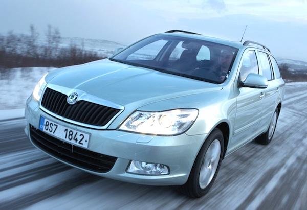 Auto Sale Czech Republic: Czech Republic 2011: Octavia, Fabia & Superb On Podium