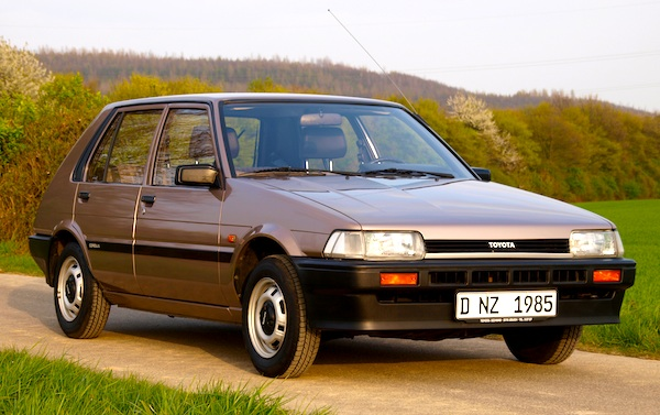 Toyota Corolla Switzerland 1984