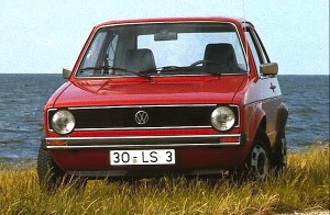 VW Golf Switzerland 1974