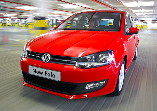 VW Polo South Africa June 2014