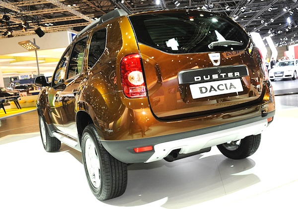 Dacia Duster Europe February 2012