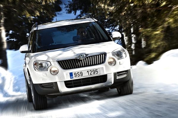 Skoda Yeti Macedonia January 2013