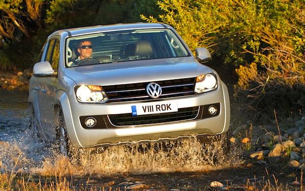 VW Amarok Argentina January 2014