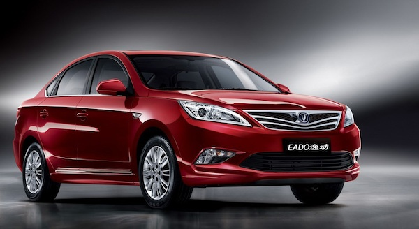 ChangAn Eado. Picture courtesy of ChangAn