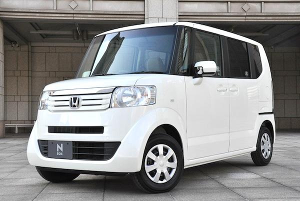 Honda NBOX Japan February 2012