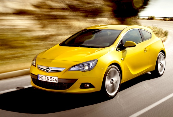 Opel Astra Croatia February 2012