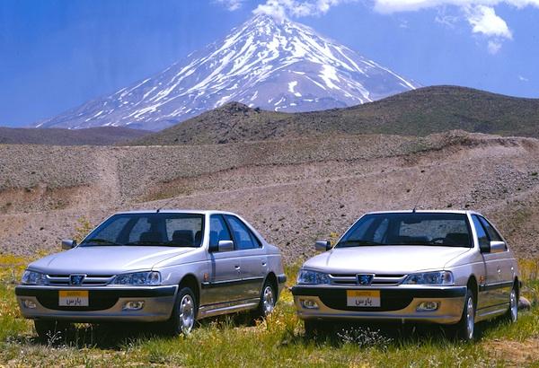 Peugeot Pars Iran August 2013
