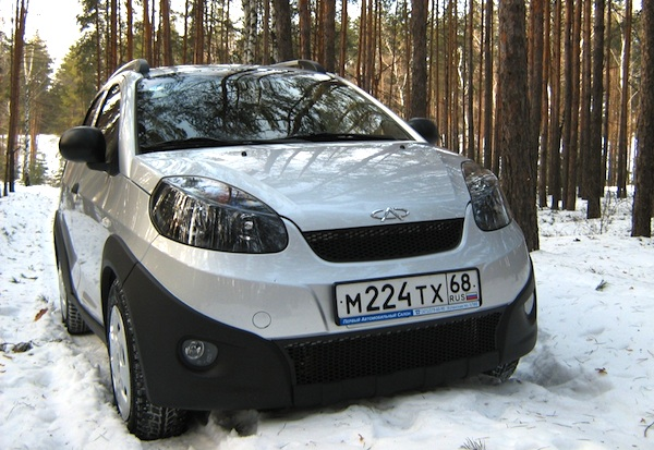 Chery Beat Ukraine March 2012