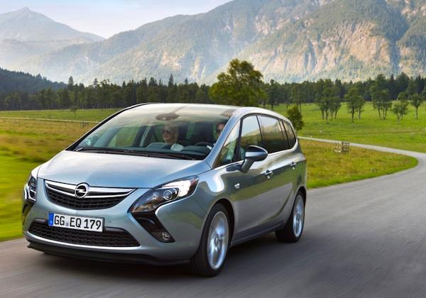 Opel Zafira Colombia Opel Zafira