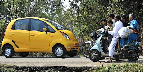 Tata Nano India. Picture courtesy of caranddriver