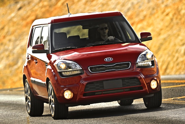 Kia Soul Egypt March 2012
